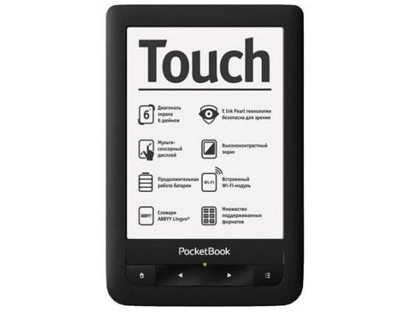 Электронная книга PocketBook Touch (Pro 622)