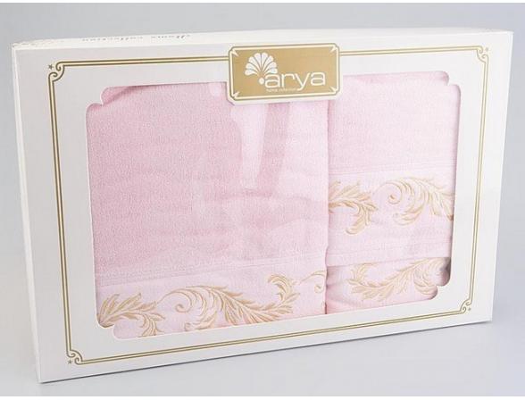 Комплект полотенец ARYA Хлопок BALBINA