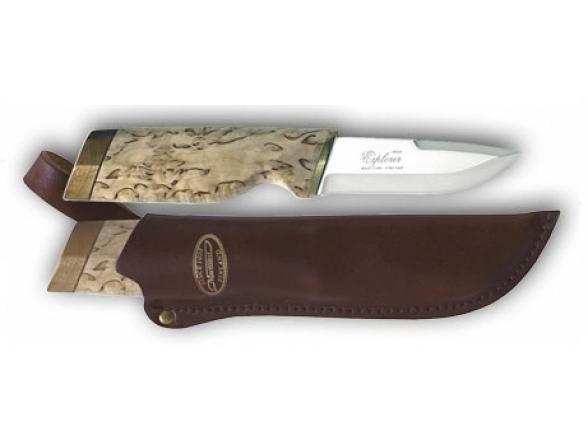 Нож рыбака Marttiini Explorer Curly Birch Big