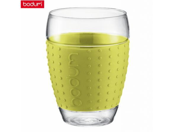 Набор бокалов BODUM 2 шт. Pavina 0.45л лимонн.