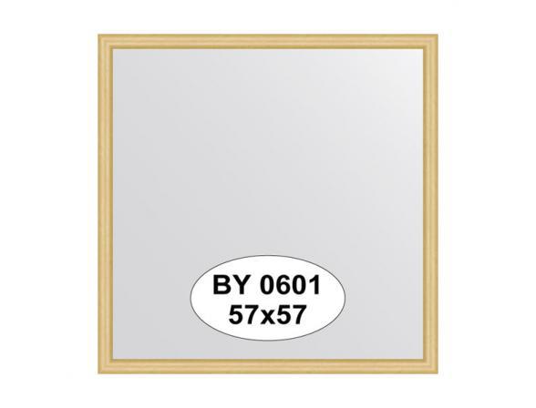Зеркало в багетной раме EVOFORM сосна (57х57 см) BY 0601