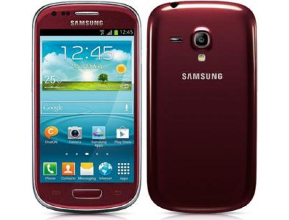 Смартфон Samsung Galaxy S III mini 8Gb Red