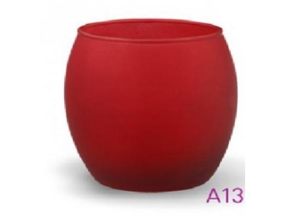 Светодиодная свеча в стакане ЭРА А13-RED (24/960)