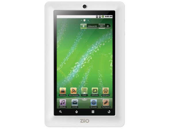 Планшет Creative ZiiO-7W 8GB белый