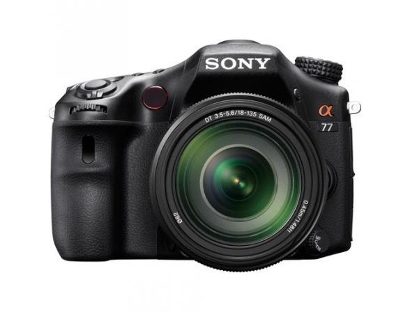 Зеркальный фотоаппарат Sony Alpha SLT-A77M Kit 18-135