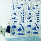 Штора для ванной Bacchetta 180х200 Abstract
