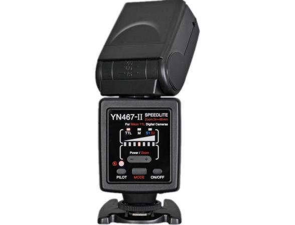 Вспышка Yongnuo Speedlite YN-467 II ( i-TTL) для Nikon