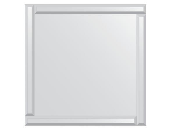 Зеркало с зеркальным обрамлением EVOFORM Style (70х70 см) BY 0809
