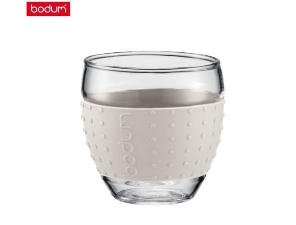 Набор бокалов BODUM 2 шт. Pavina 0.35л белый