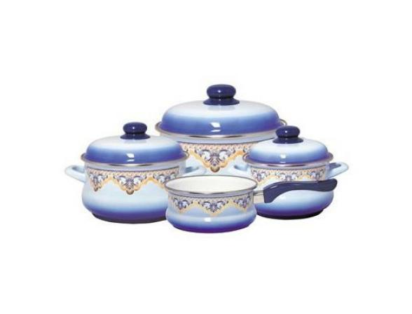 Набор посуды МЕТРОТ 6/1+ковш 16 см /081195/Эмина