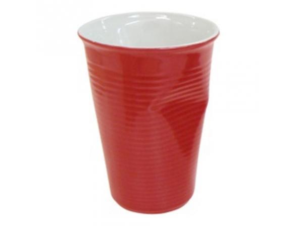Мятый стаканчик Ceraflame 240 мл красный