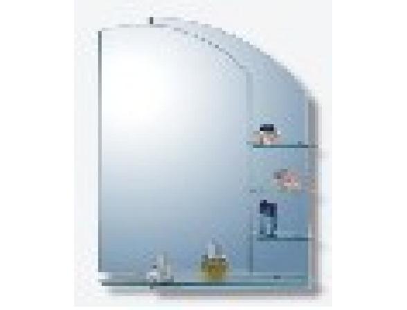 Зеркало с полочками Imagolux Креатив, 90x65см (677207)