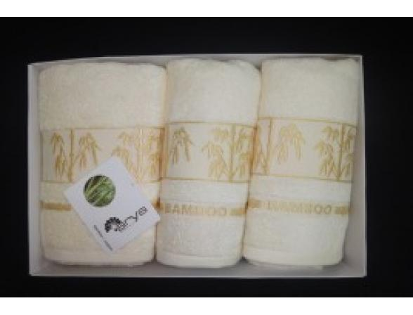 Комплект полотенец FAKILI Бамбук 3 пр. 50х90 50х90 70х140