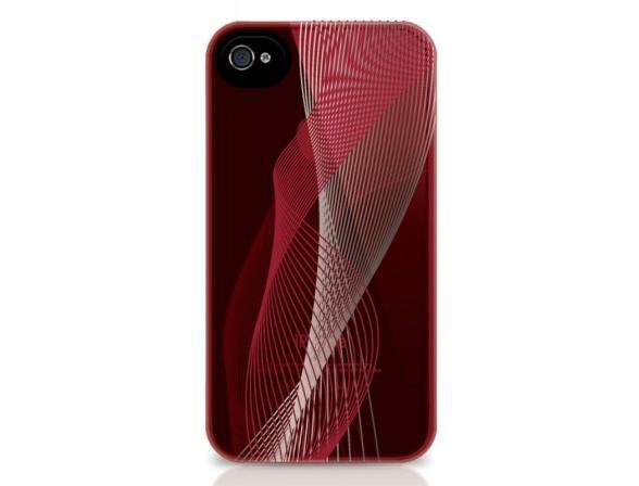 Чехол BELKIN Shoe Inspiration для iPhone 4S розовый