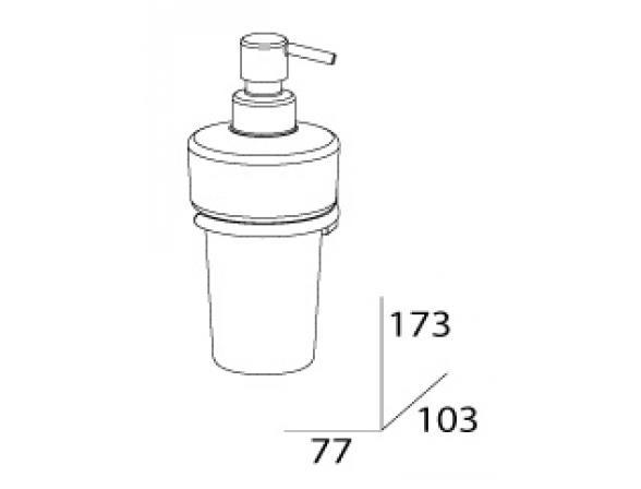 Дозатор для жидкого мыла FBS ESPERADO ESP 009
