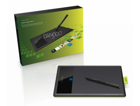 Графический планшет Wacom CTL-470K-RUPL Bamboo Pen (3gen)