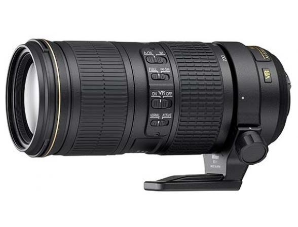Объектив Nikon 70–200mm f/4G ED VR AF-S Nikkor