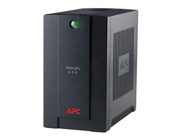 Источник бесперебойного питания APC Back-UPS 650VA, AVR, 230V, CIS (BX650CI-RS)