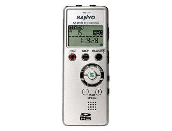 Диктофон Sanyo ICR-FP600D