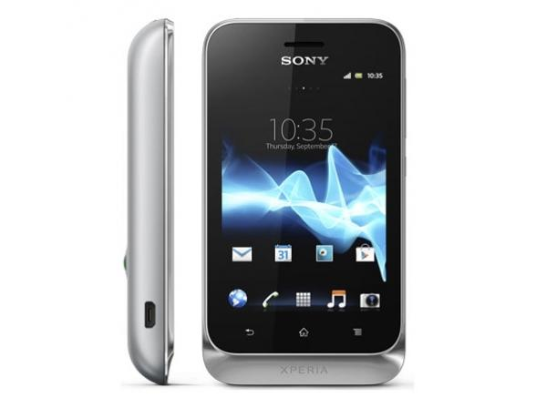 Смартфон Sony ST21i2 Tipo Dual Silver