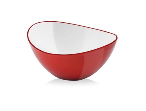 Миска Vialli Design LIVIO 16см красная L-16R