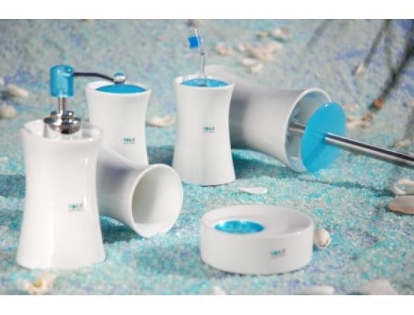 Набор для ванной Centrplus IBIZA BLUE, 6 предметов