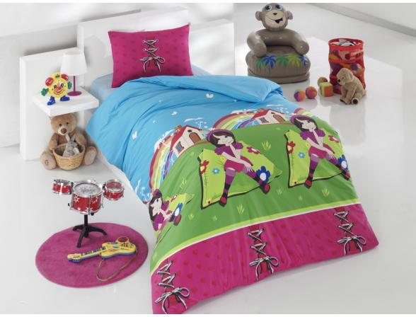 Постельное белье детское ALTINBASAK Creaforce FATOS 1,5-спальное