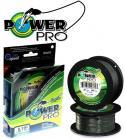 Леска плетёная Power Pro Moss Green 275м 0,43