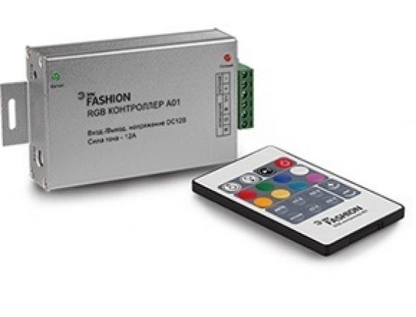 Контроллер ЭРА 609330 RGBcontroller-12-A01-RF (60/1008)