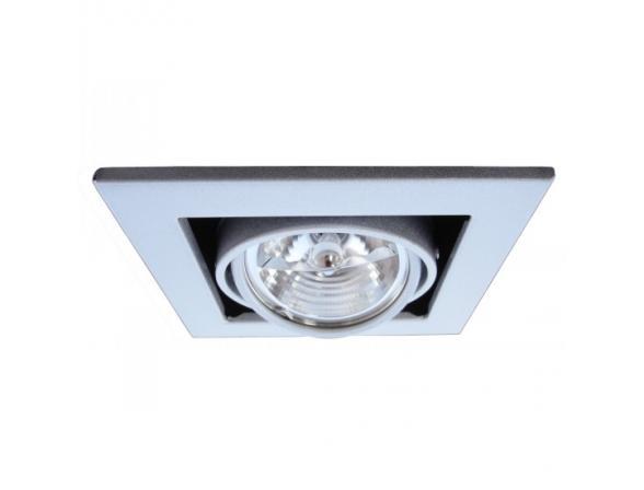 Светильник встраиваемый ARTELAMP TECHNIKA A5930PL-1SI