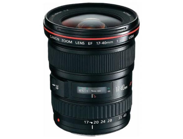 Объектив Canon EF 17-40 f/4L USM
