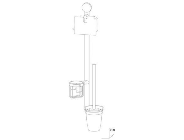Комплект для туалета ARTWELLE HARMONIA HAR 054
