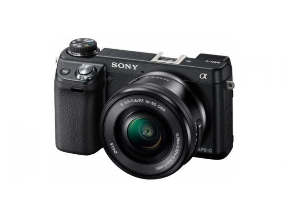 Цифровой фотоаппарат Sony Alpha NEX-6L Kit 16-50*