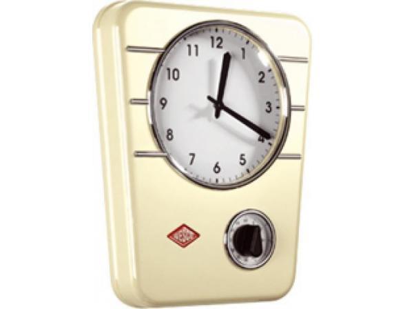 Кухонные часы с таймером Wesco RETRO STYLE 322401-23