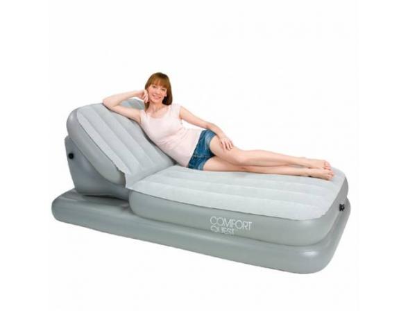 Кровать надувная Bestway Airbed with Adjustable Backrest