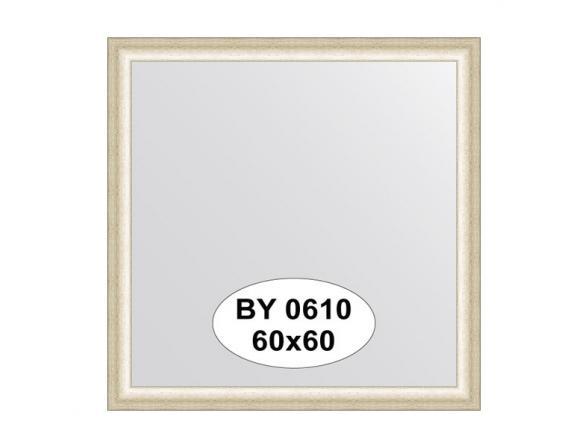 Зеркало в багетной раме EVOFORM старое серебро (60х60 см) BY 0610
