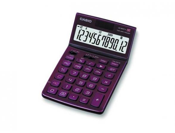 Калькулятор настольный Casio casJW-200TV-RD