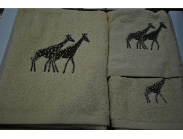 Комплект полотенец ARYA GIRAFFA