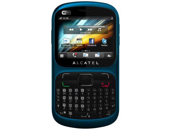 Телефон Alcatel OT813D Cyber Blue