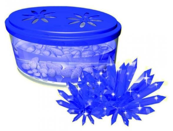 Научный опыт День знаний Кристаллизация. Голубой кристалл (28906)