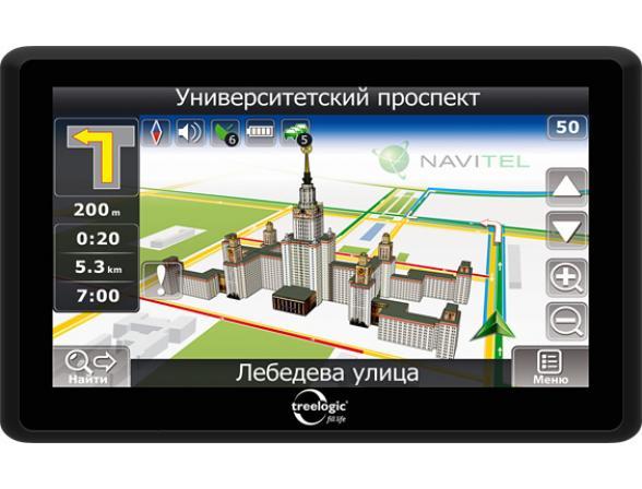 Навигатор Treelogic TL-7008BGF AV Glonass 4GB