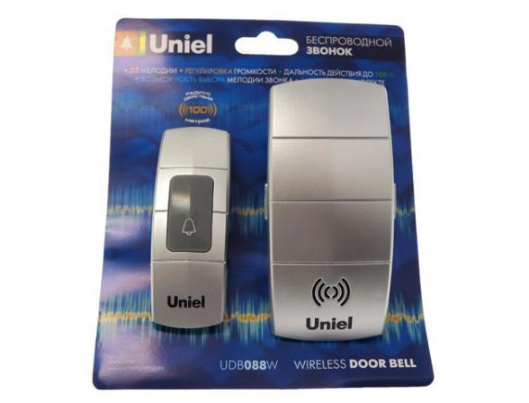 Звонок беспроводной Uniel UDB-088W-R1T1-32S-100M-SL