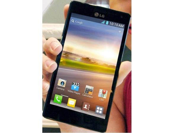Смартфон LG P880 Optimus 4X HD Black