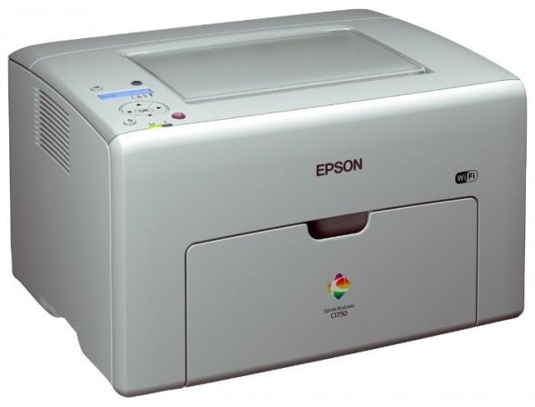 Принтер лазерный цветной Epson AcuLaser C1750w