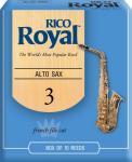 Трости для саксофона альт RICO RJB1030 Royal №3 10 шт/упак