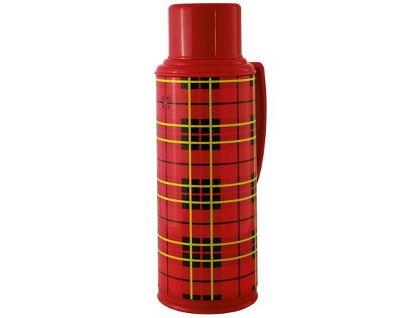 Термос со стеклянной колбой Thermos Heritage 2 л Red 1.9л