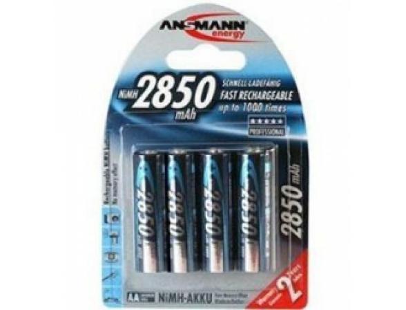 Аккумулятор Ansmann AA 2850 mAh Professional  (уп 4шт)