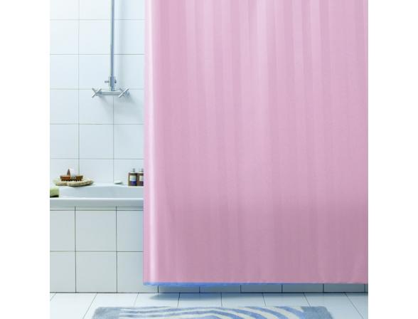 Штора для ванной Bacchetta 180х200 Rigone розовая
