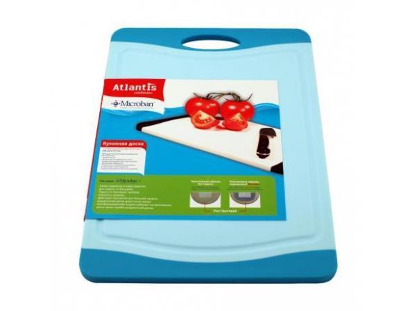 Кухонная доска антибактериальная MICROBAN FLUTTO 37x25см F-M-B