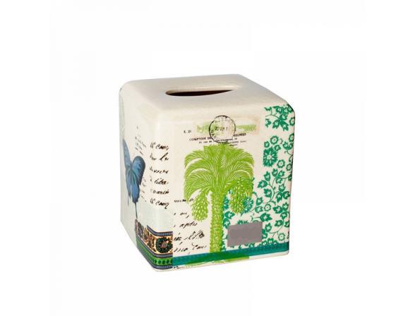 Бокс для салфеток (салфетница) CROSCILL Butterfly Palm 6A0-006O0-9087